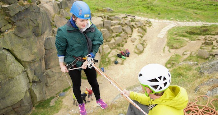Abseiling Outdoors
