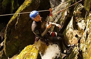 Try abseiling