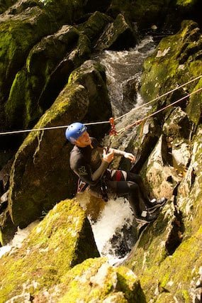 Abseiling-Canyoning-Ingleton-Waterfalls-Trail