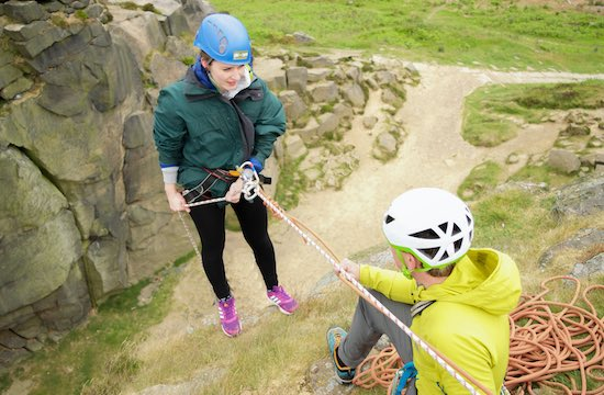 """Abseiling"
