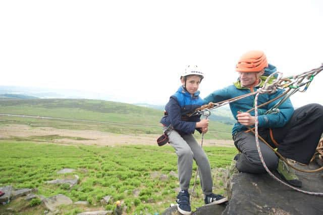 Abseiling-hope