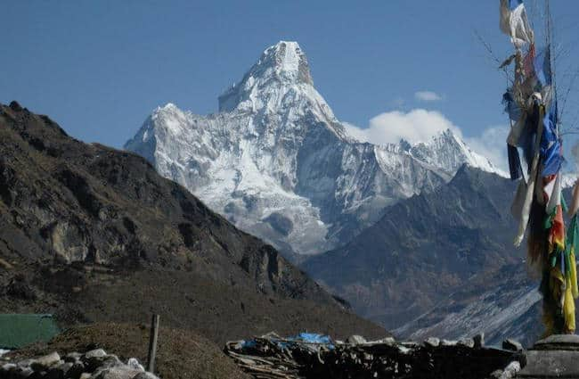 Ama Dablam from Everest Trek