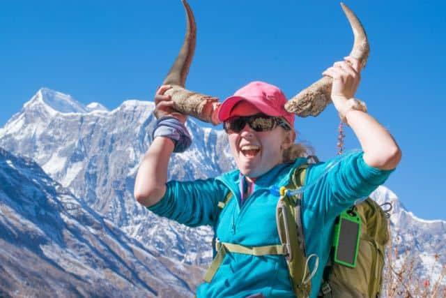 Annapurna-3-Yak-Girl