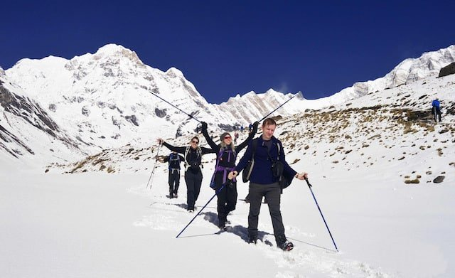 Annapurna-Base-Camp-in-Snow
