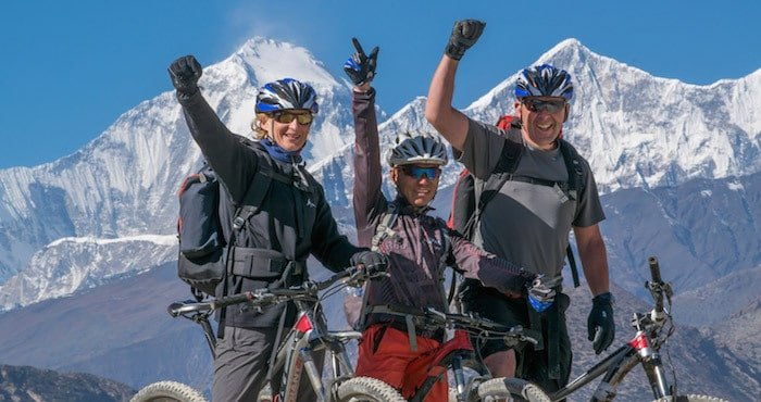 Annapurna Hiking and Biking trek Nepal