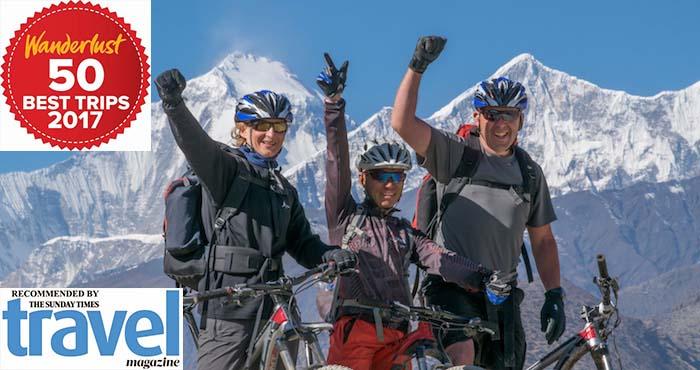 biking Annapurna Circuit