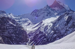 Annapurna solo travel trek