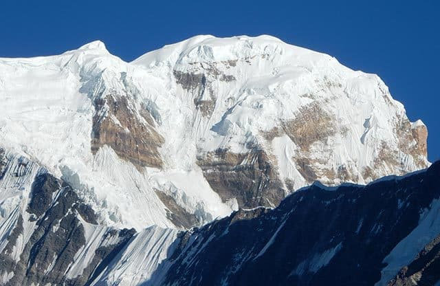 Annapurna-South-in-Sun