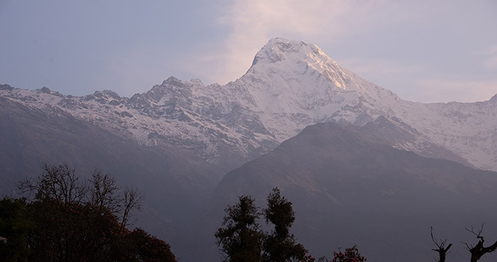 Annapurna South From Tadopani