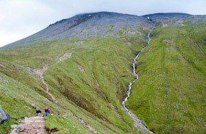 Mountain Track - Ben Nevis