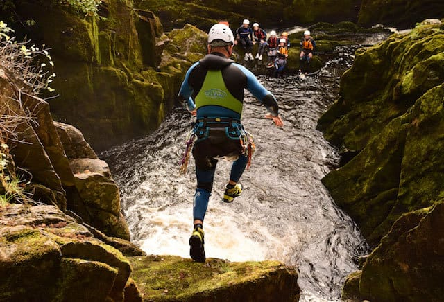 Big-Canyoning-Jump-Lake-District
