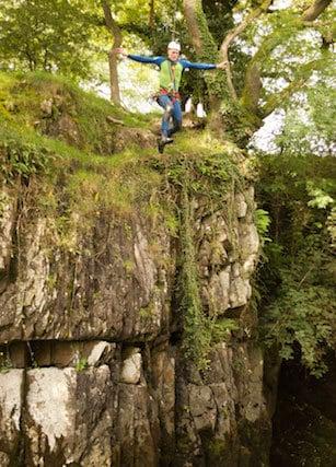 Big-Canyoning-Jump-Western-Yorkshire-Dales