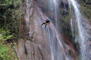 Canyoning-Abseil