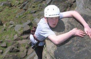 Climbing-Almscliffe