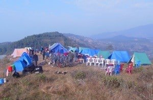 Camp site Nagarkot