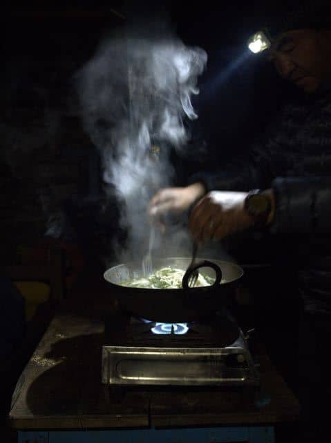 Camping-Cooking-Stove-Night