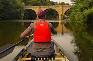 Canoeing-Matlock