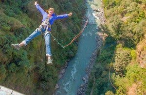 Highest Canyon Swing in the World Nepal