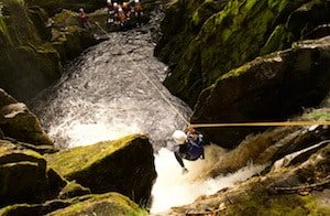 Canyoning Western Yorkshire Dales