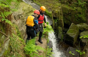 Stag party gorge walking