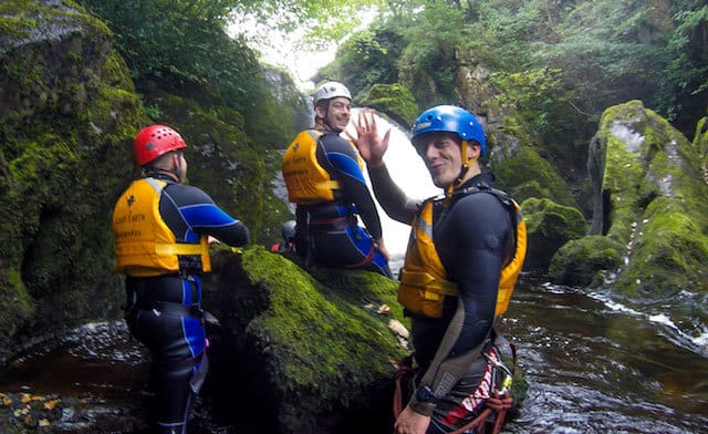 Canyoning-Group-Settle-Yorkshire-Dales