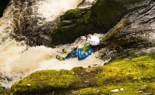 Canyoning-Ingleton-Beezley-Falls-Western-Yorkshire-Dales