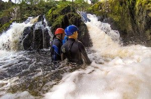 Gorge Walking Western Yorkshire Dales