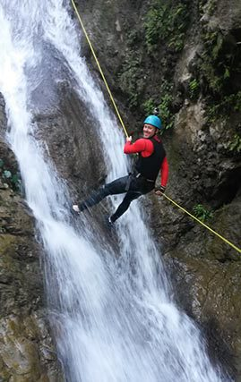 Canyoning-Peak-District