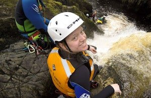 Gorge Walking in West Yorkshire