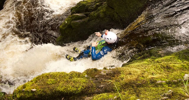 Canyoning-Water-Slide-Ingleton-West-Dales