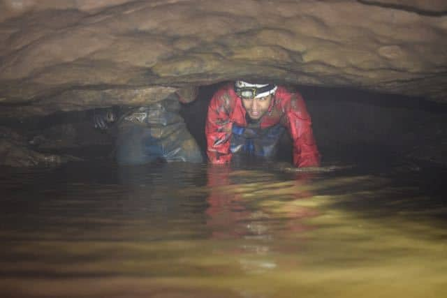 Caver-in-Sump