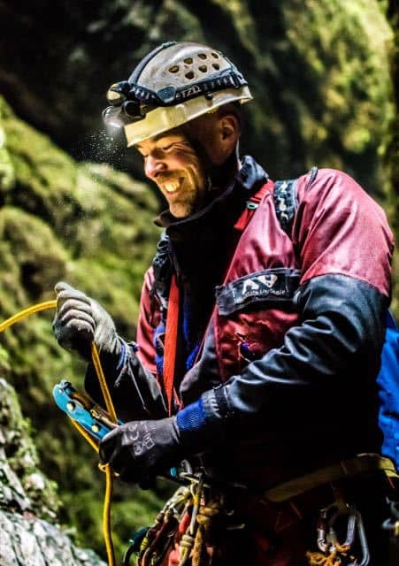 Caving-Instructor