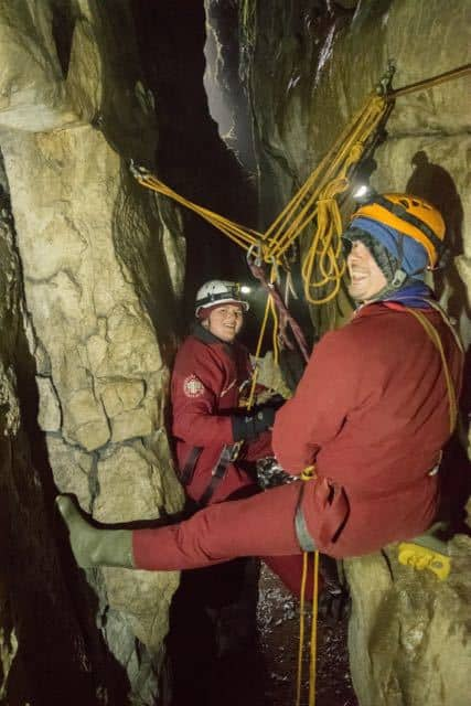 Caving-Single-Rope-Technique-Course-Peak-District-Edale
