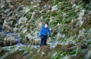 Hiking on Ben Nevis