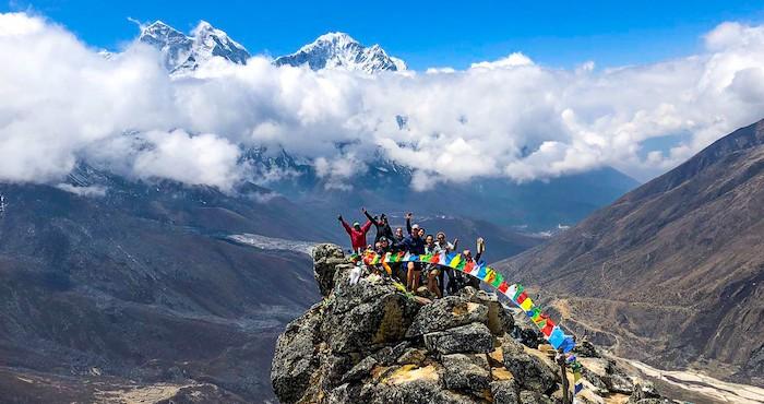 Everest Base Camp group trekking