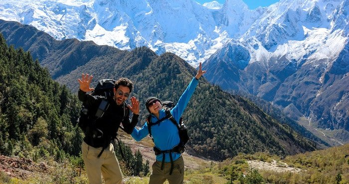 Charity Trek in the Nepalese Himalaya