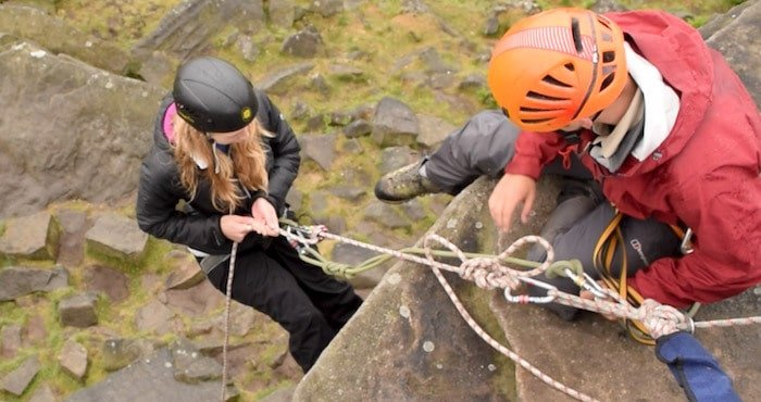 Abseiling-Peak-District