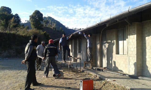 Charity work Nepal
