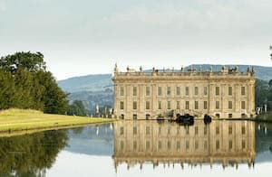 Chatsworth House in Peak District