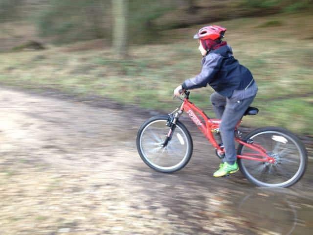 Child Mountain Biking