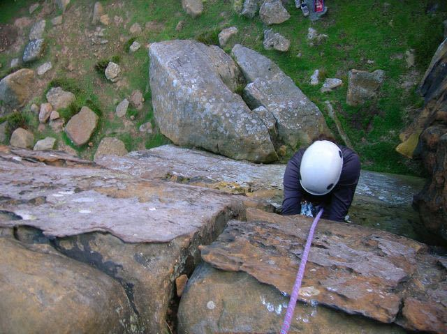 Climbing-Peak-District