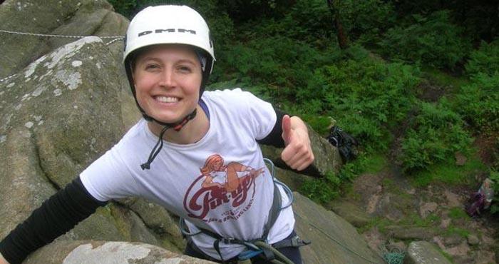 Climbing Yorkshire