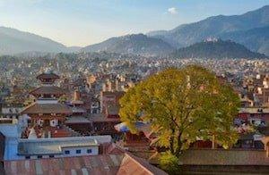 Views across Kathmandu