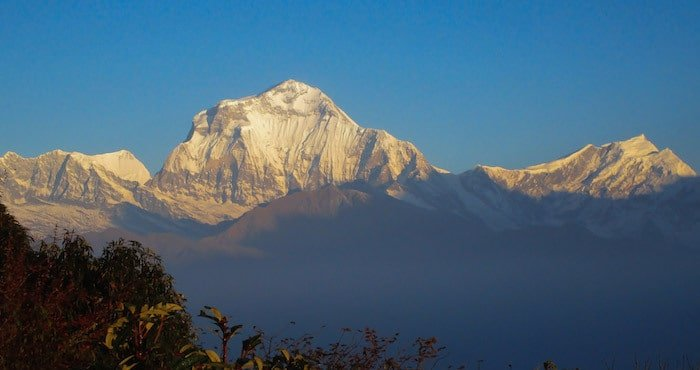 Annapurna Range from Poon Hill
