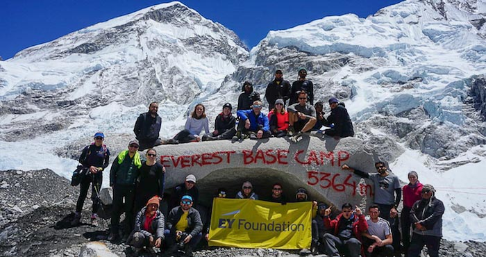 Everest Base Camp charity challenge