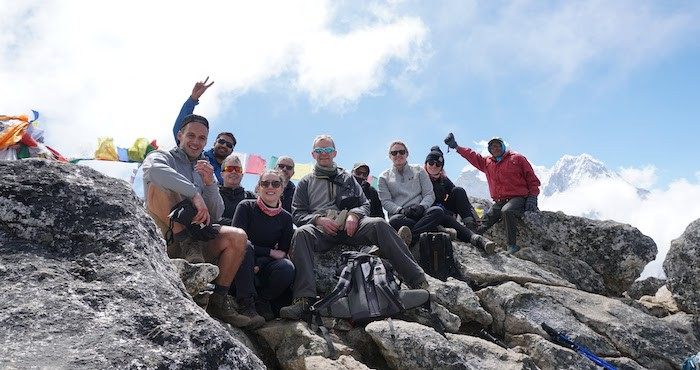 Team reach Everest Base Camp after intense training regime
