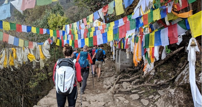 Prepared trekkers enjoy hike after undertaking training plan