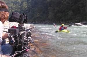 Filming Kayaking Nepal