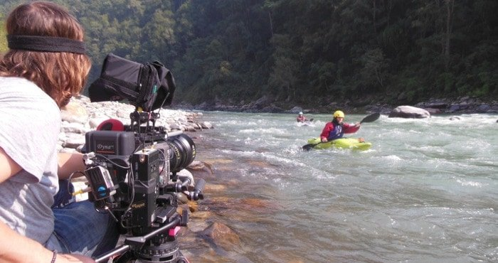 Filming Kayaking Nepal