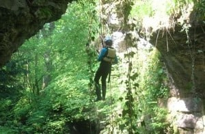 Free-hanging-Abseil